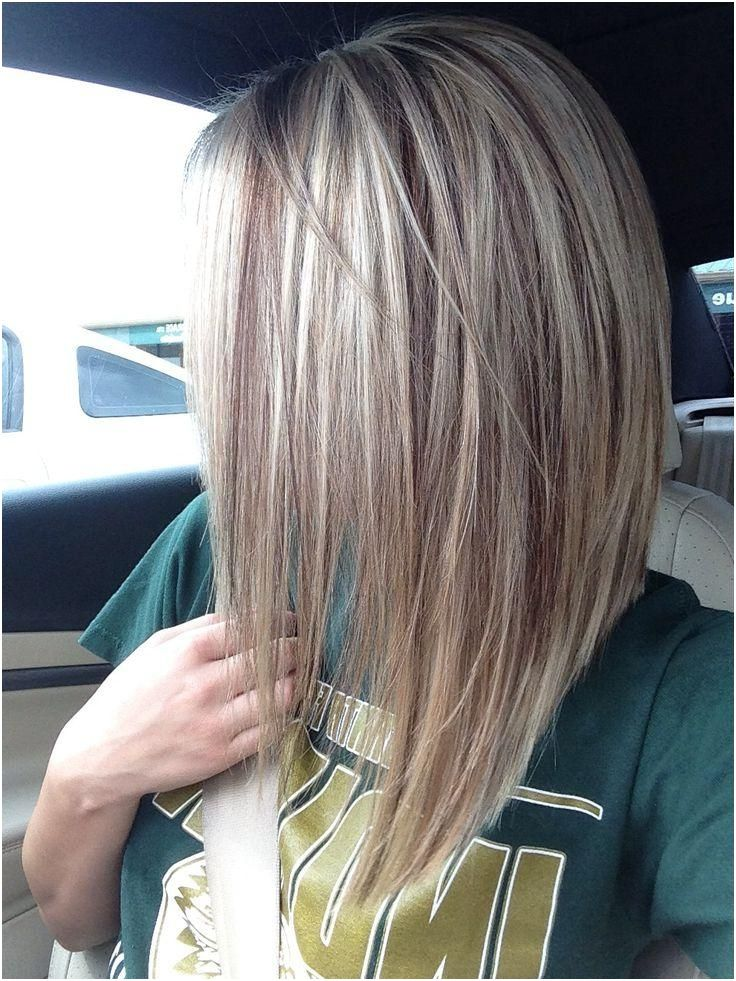 Medium Length Inverted Bob Hairstyles For Fine Hair Straight Blonde Hair Long Bob Hairstyles Long Bob Haircuts