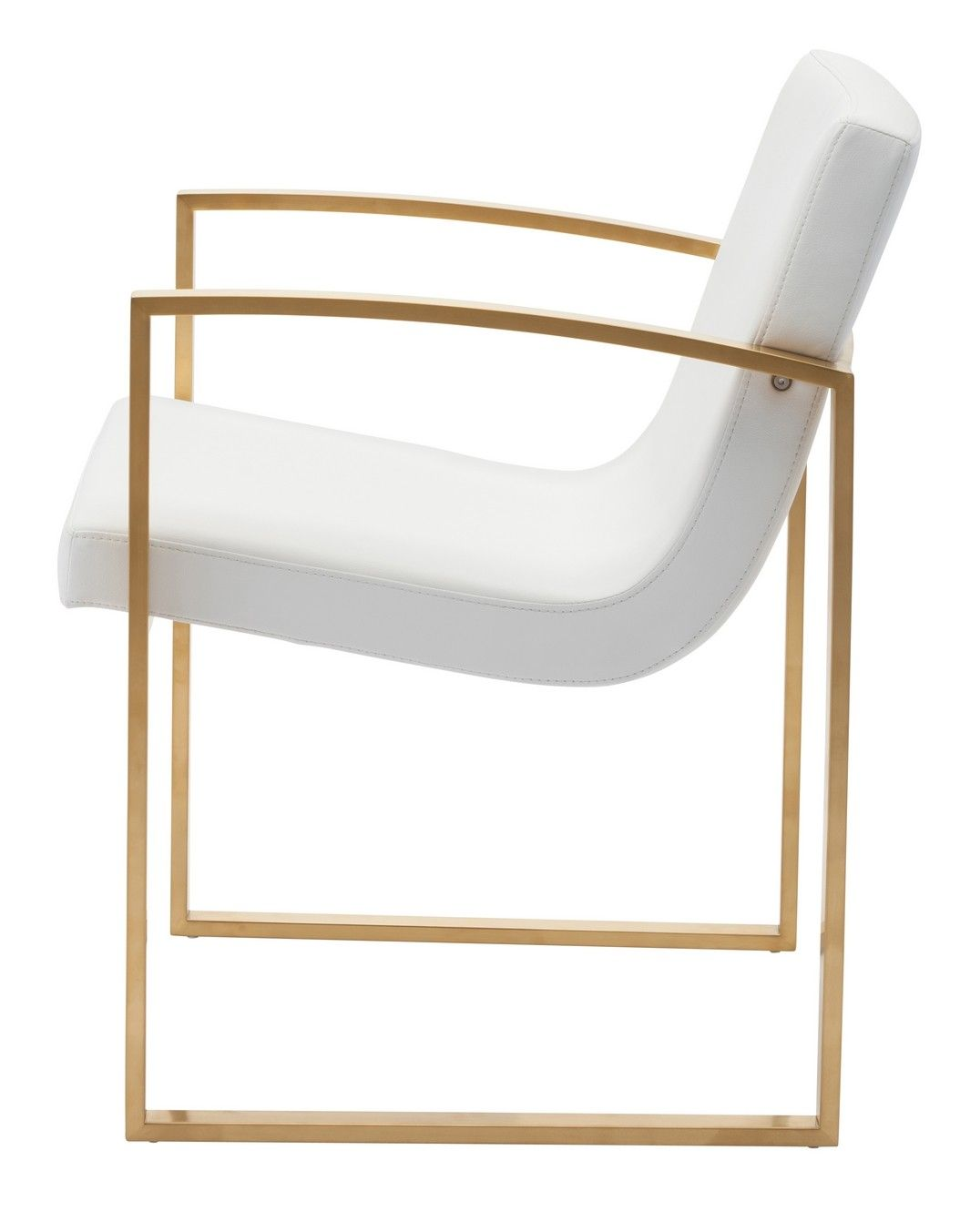 Clara Dining Chair In White By Nuevo Living | HGTB324 | Nuevo Living