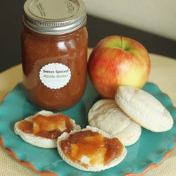 Sweet Spiced Apple Butter from The Hazel Bloom starts with whole spices, orange juice, and fresh Washington apples.