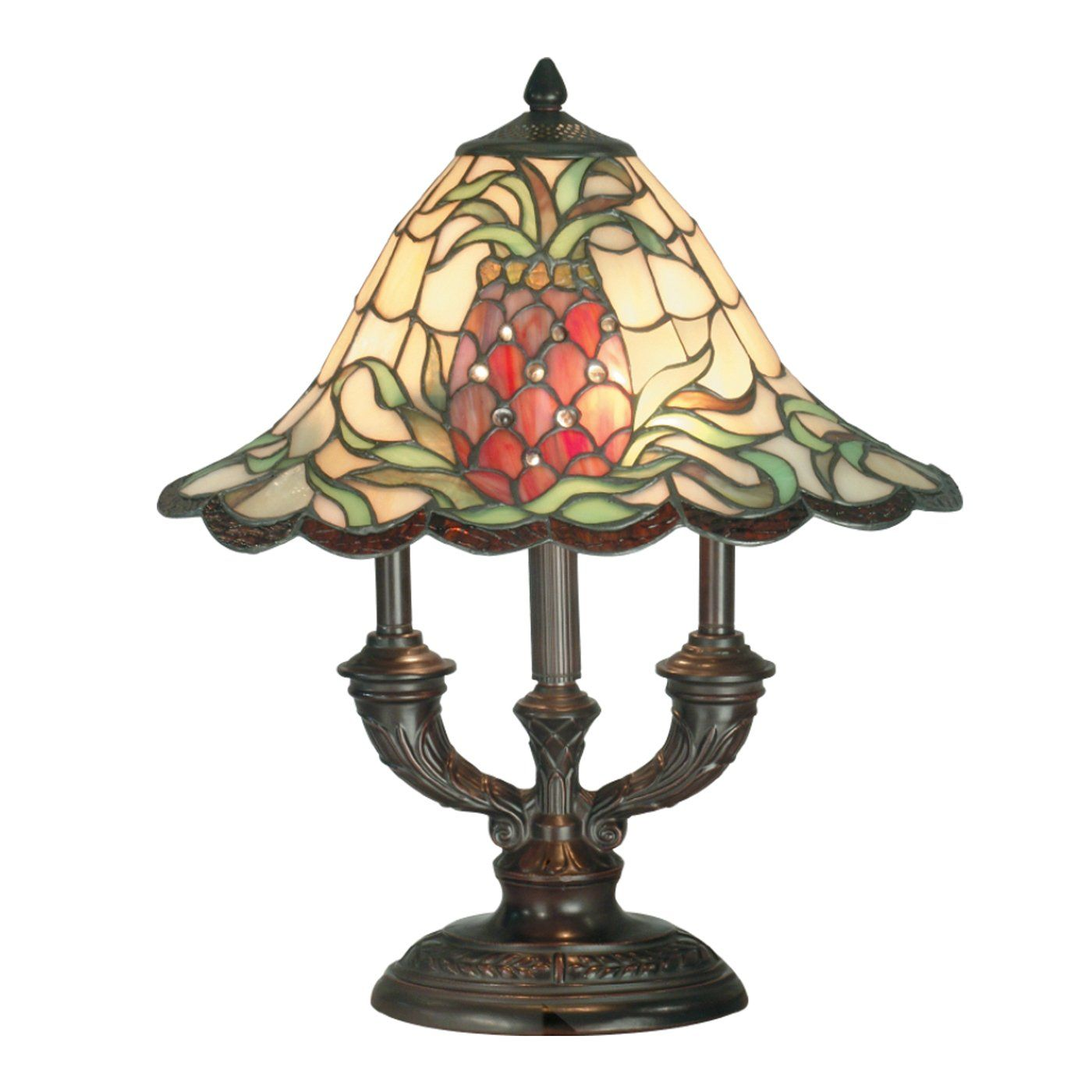Old Tiffany Lamps Dale Tiffany Tt70698 2 Light Odessa Table Lamp