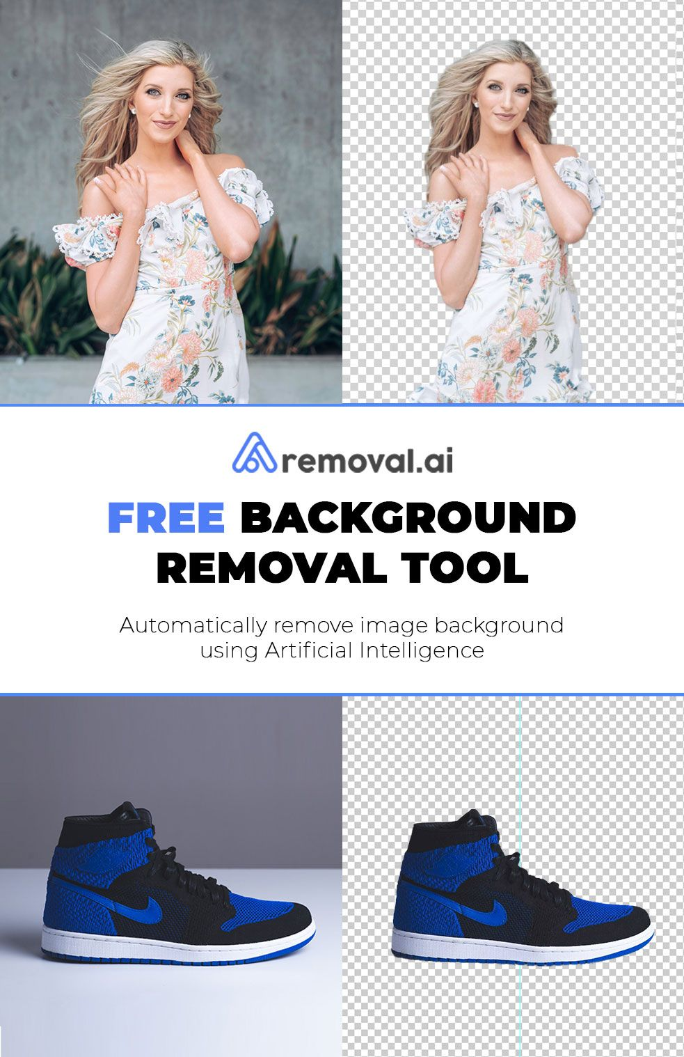 Removal.ai Free Image Background Removal Tool