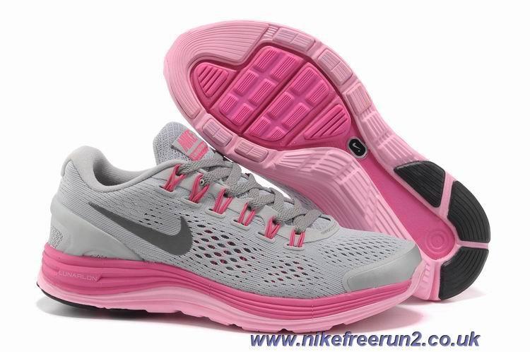flera färger spara upp till 80% bästa skor Nike LunarGlide 4 Womens 524978-009 Grey Pink Silver Online | Nike ...
