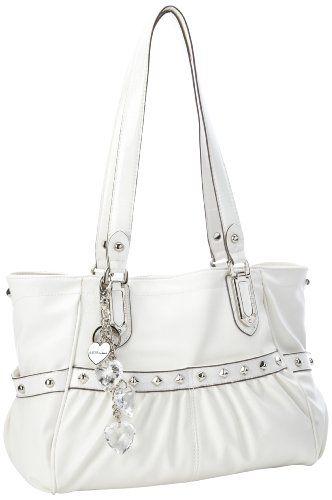 Kathy Van Zeeland Just Tough Enough Shoulder Bag White One Size Dp B00a8flt9s Ref Cm Sw R Pi Zzz1rb16ss1wwafb