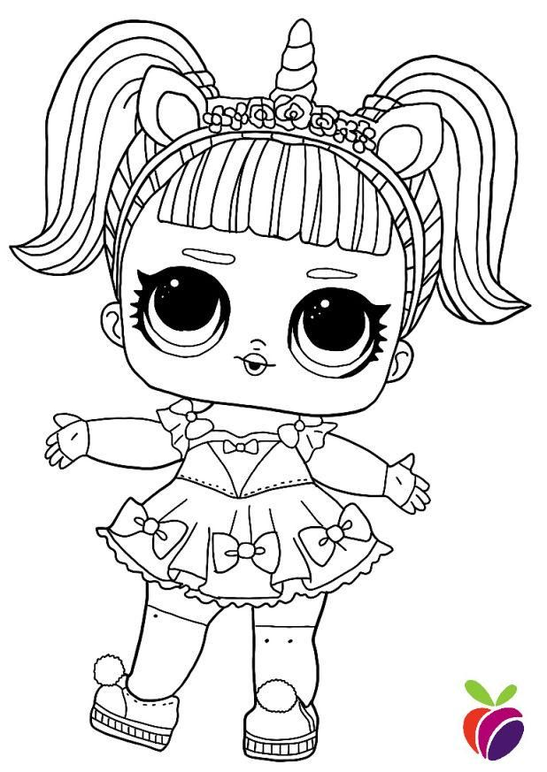 Coloring Pages Lol Dolls