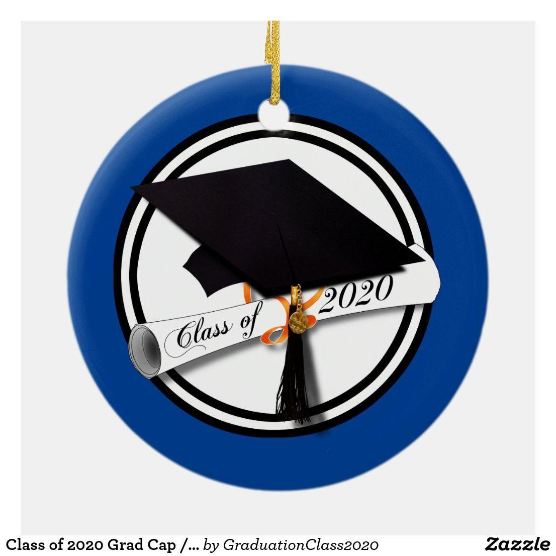 Class of 2020 Grad Cap / Diploma (Add a Photo) Ceramic