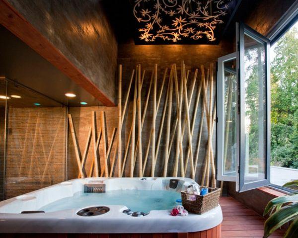 Le bambou décoratif va faire des miracles pour votre interieur - badezimmer bambus