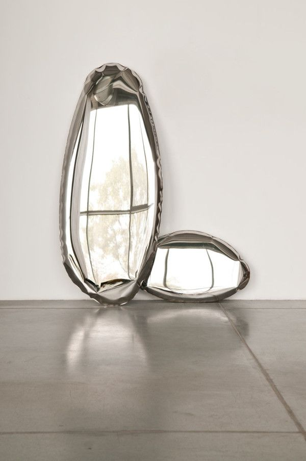 A Collection of Mirrors That Look Inflated - Design Milk