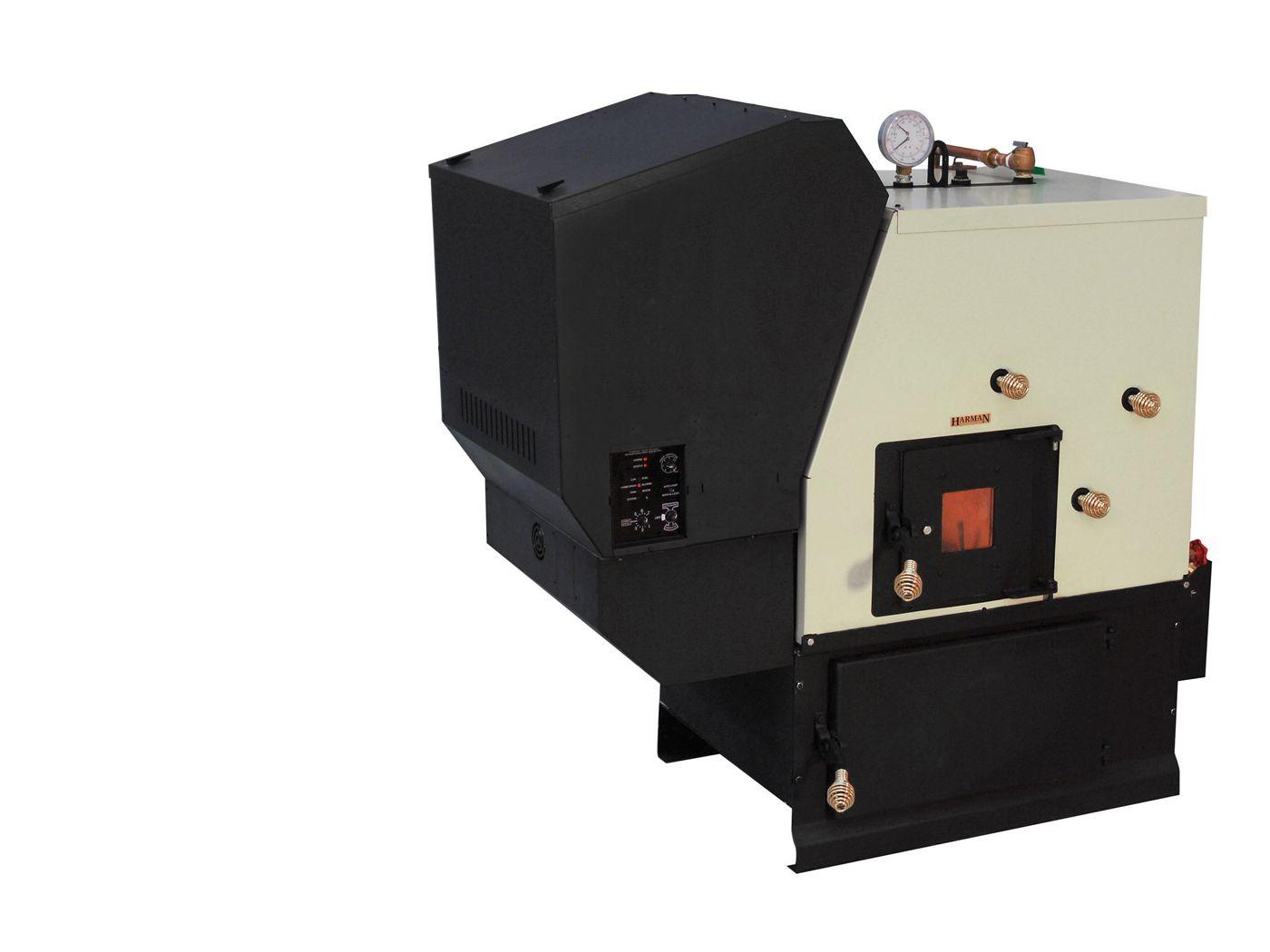 Harman Pb105 Pellet Boiler Boiler Pellet Heating And Cooling