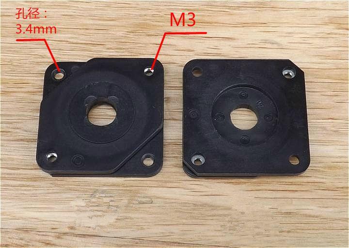 Nema17 mount bracket 42 stepper motor plastic damper shock