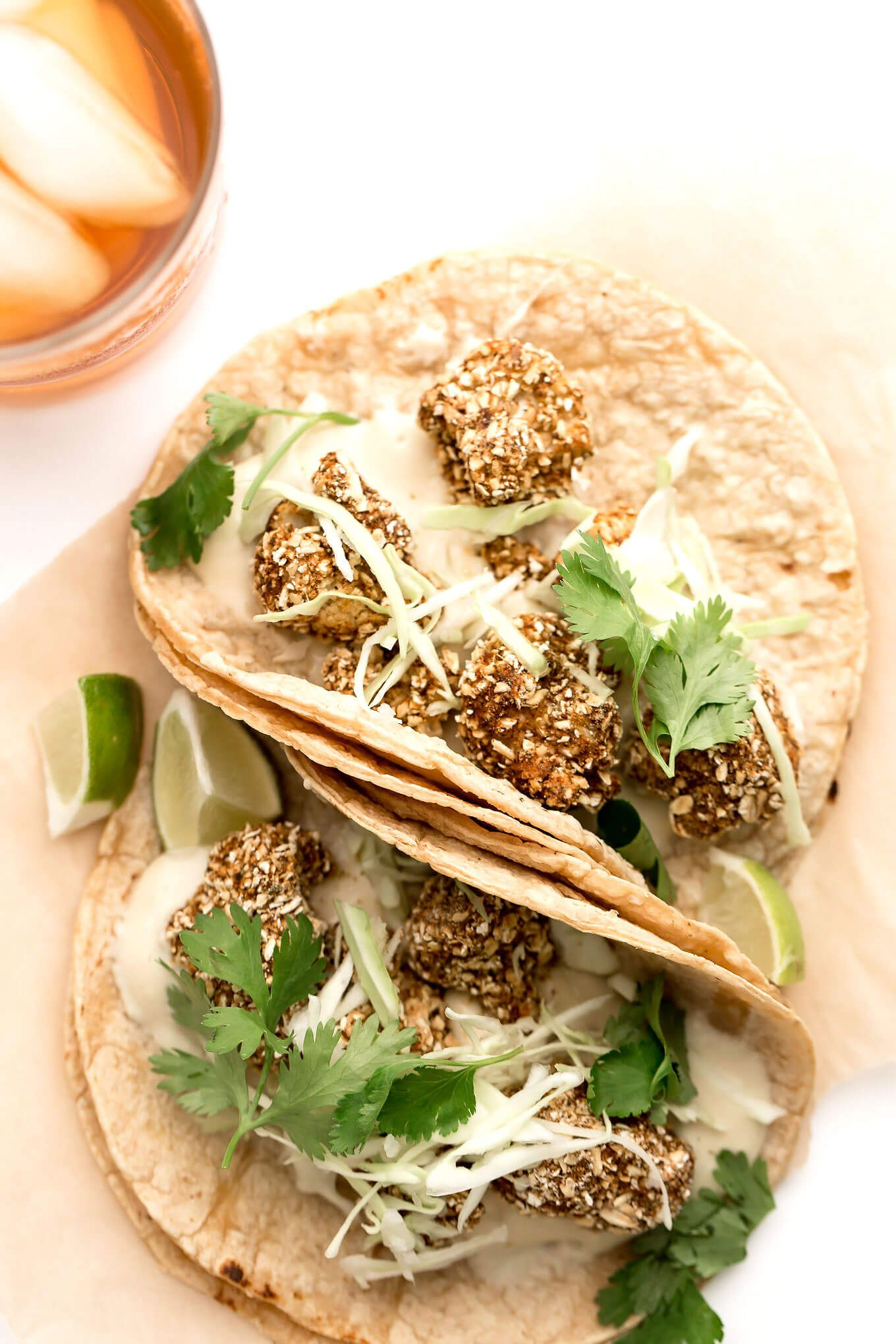 Vegan crispy cauliflower tacos with cashew mozzarella recipe vegan crispy cauliflower tacos with cashew mozzarella forumfinder Choice Image