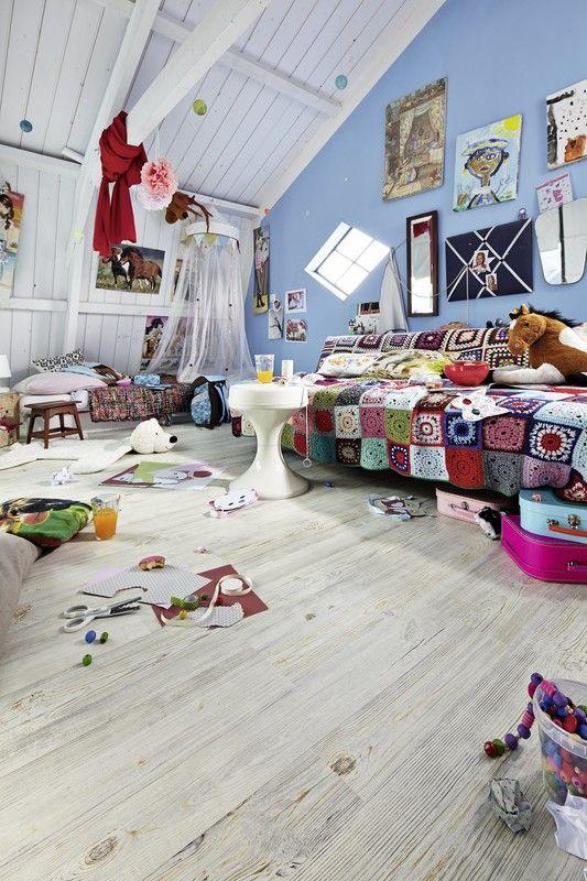 laminat | lc75 | lc 75 s | white life | 6390 | holznachbildung ... - Bodenbelag Kinderzimmer Robust