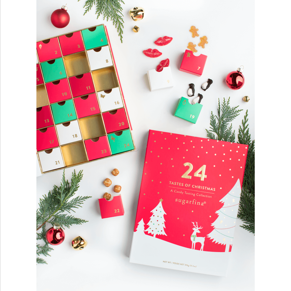 Advent Calendar #wineadventcalendardiy Advent Calendar | Sugarfina | A Luxury Candy Boutique #wineadventcalendardiy