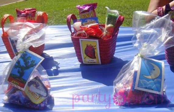 Fiesta Themes With Party Pretty. Goodie Bags For A Mexican