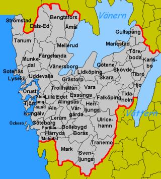Västra Götalands län - Wikipedia, den frie encyklopædi
