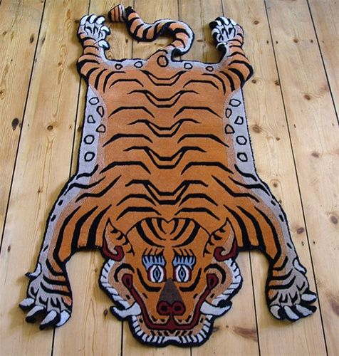25 Awesome antique tibetan tiger rugs images | Tiger rug
