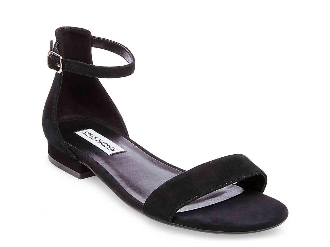 Steve Madden Lamp Flat Sandal Prom Shoes Black Classy Sandals Black Dress Sandals [ 960 x 1280 Pixel ]