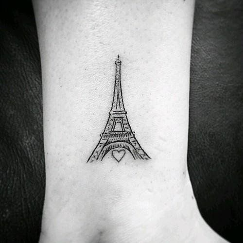 Image Result For Eiffel Tower Tattoo Idees De Tatouages