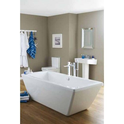 Trick Square Double Ended Freestanding Bath Brand Premier - Premier bathroom collection