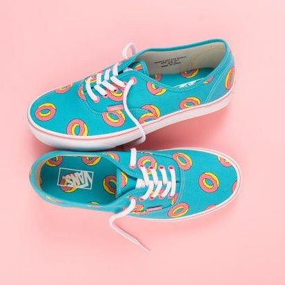 1a8a77b13d Tyler the Creators donut logo from Odd Future s collaboration with Vans.  Check em out on the blog using the link in the bio.  kicks  sneakers   collaboration ...