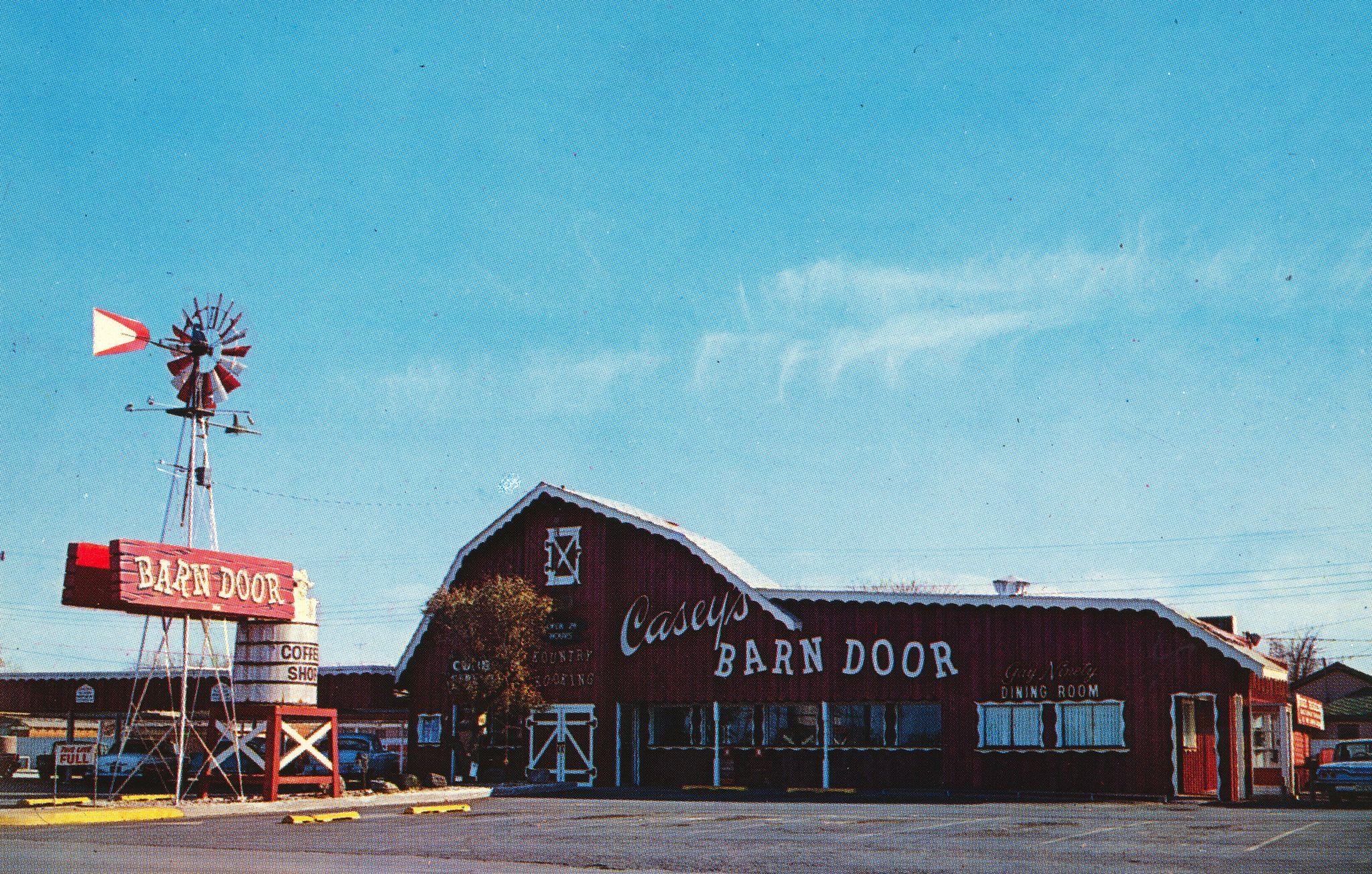 Casey\'s Red Barns (Barn Door) - Abilene, Texas | Unique restaurants ...