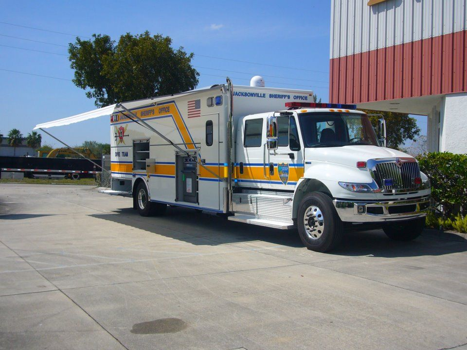 Jacksonville Fl Sheriff S Office Evi Dive Team Truck Trucks