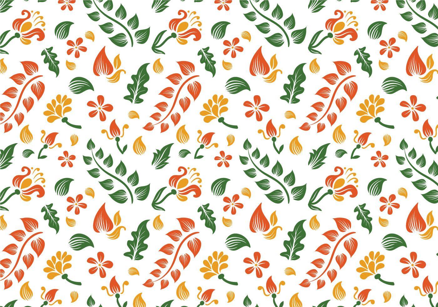 Free Batik Background Vectors