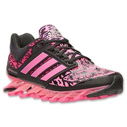 online store 513fb 04969 Womens adidas Springblade Drive Running Shoes  Finish Line  Solar  PinkCore BlackSilver Metallic