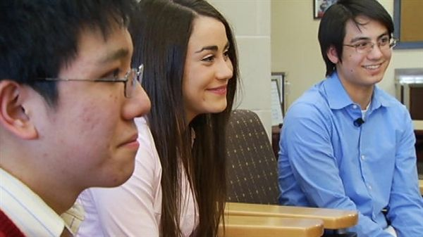 Three Pennsylvania classmates get perfect SAT scores (Photo: NBCPhiladelphia.com / Deanna Durante)