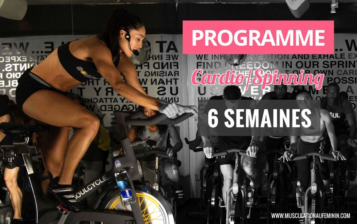 programme cardio spinning biking velo perte de poids maison femme cover sport
