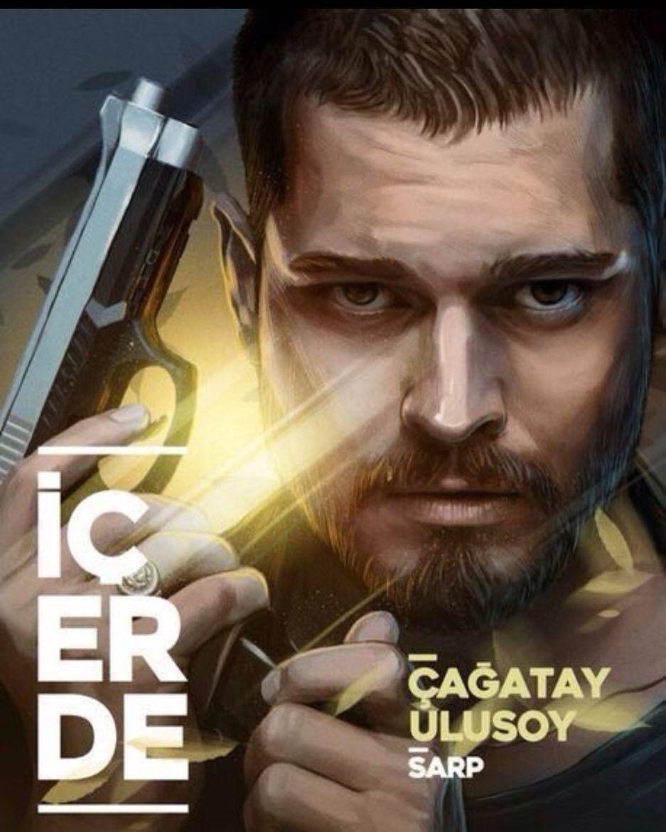 مسلسل القصة الكاملة للمسلسل التركي في الداخل Cagatay Ulusoy Hot Actors Actors