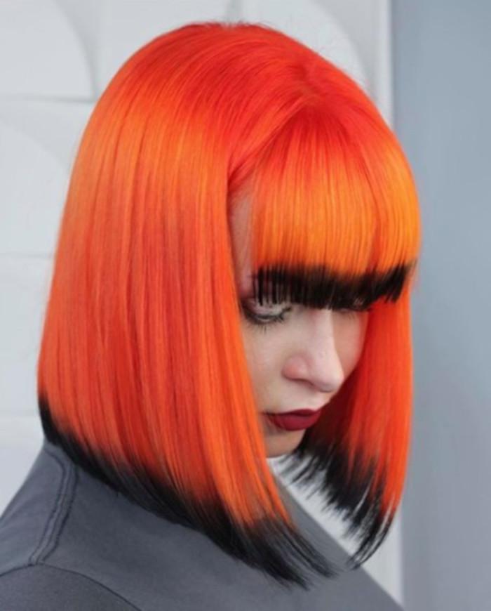 The Prettiest Halloween Hair Color Ideas You Could Wear All Year Long Hair Color Orange Hair Inspo Color Halloween Hair Dye
