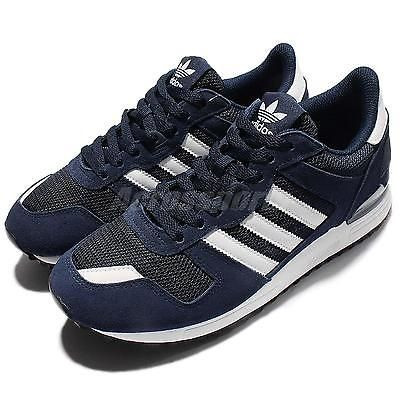 eb81c2d5d adidas Originals ZX 700 Navy White Men Casual Shoes Sneakers Trainers S76176