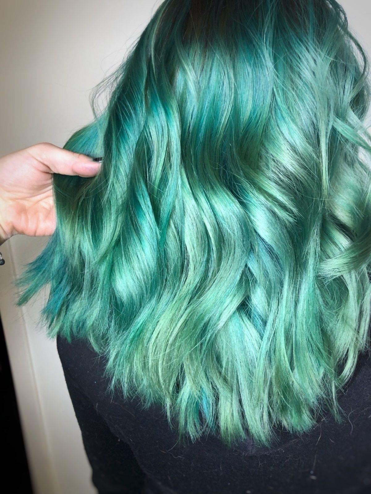 39+ Seafoam hair dye trends