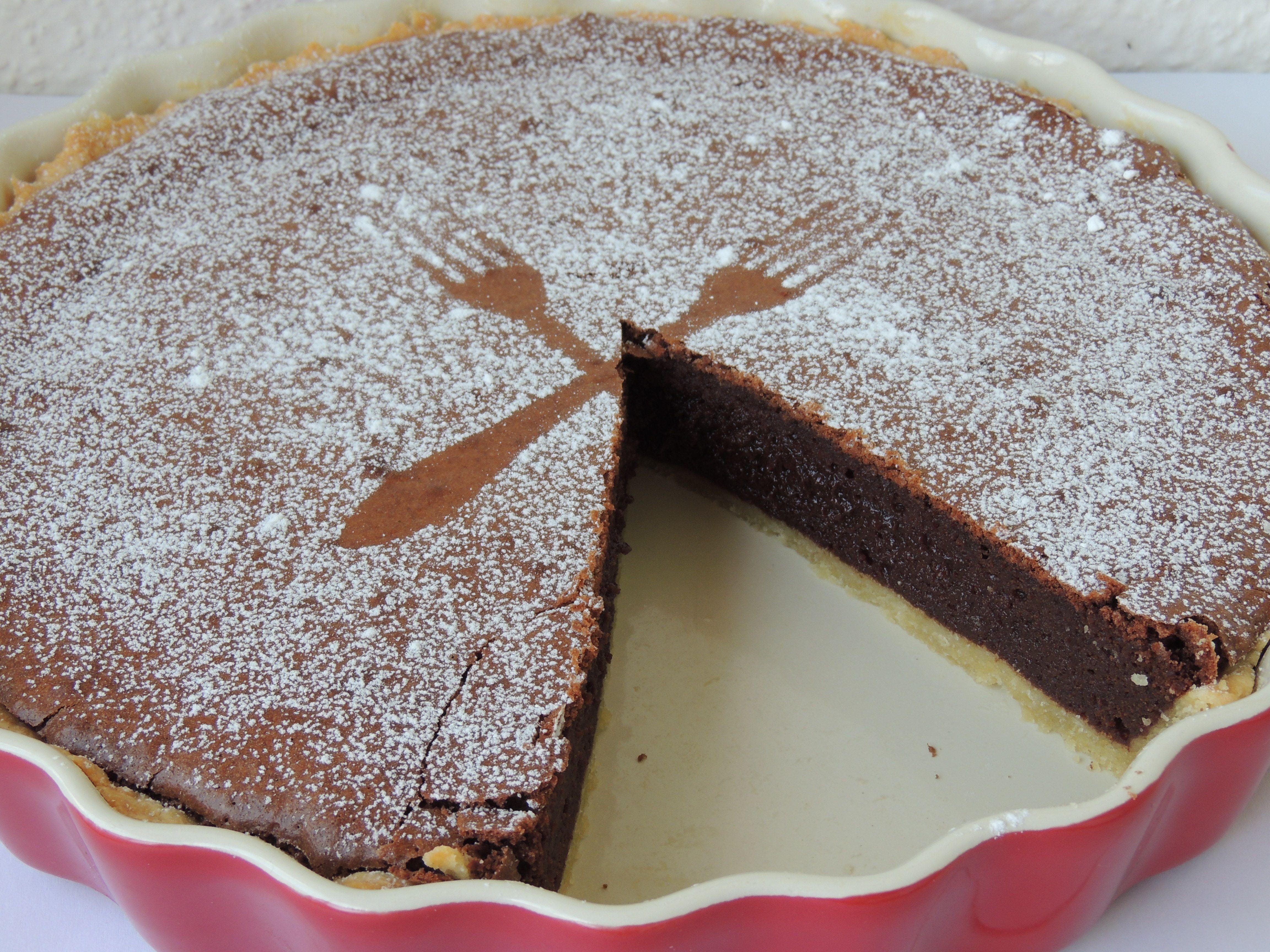 Extrémne čokoládový koláč