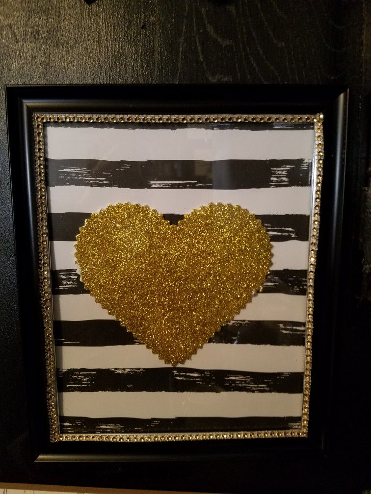I made this picture using scrapbook paper from hobby lobby