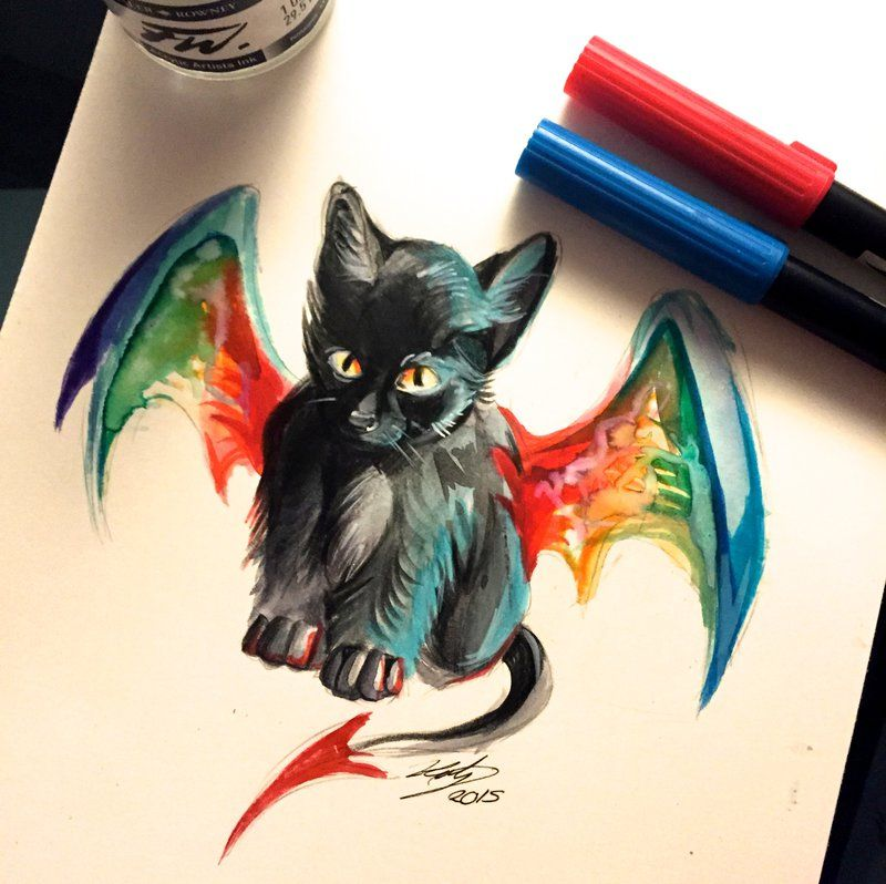 20- Kitty Dragon by Lucky978 on DeviantArt