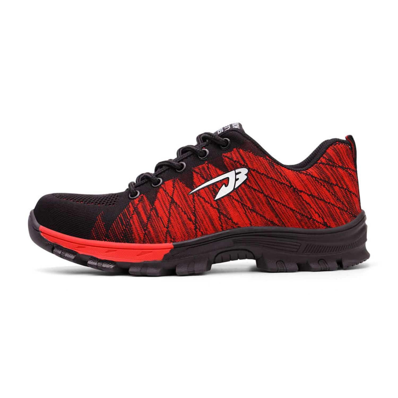 Airwalk // Red | Steel toe work shoes