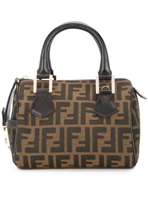 FENDI VINTAGE Zucca pattern tote bag  b7f551fb47397