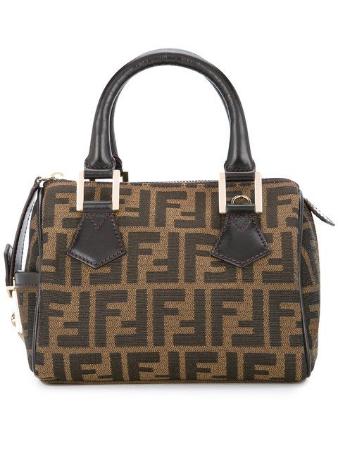a07318fe28cc FENDI VINTAGE Zucca pattern tote bag