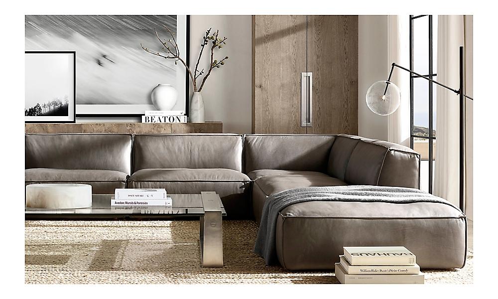 rooms  rh modern with images  restoration hardware