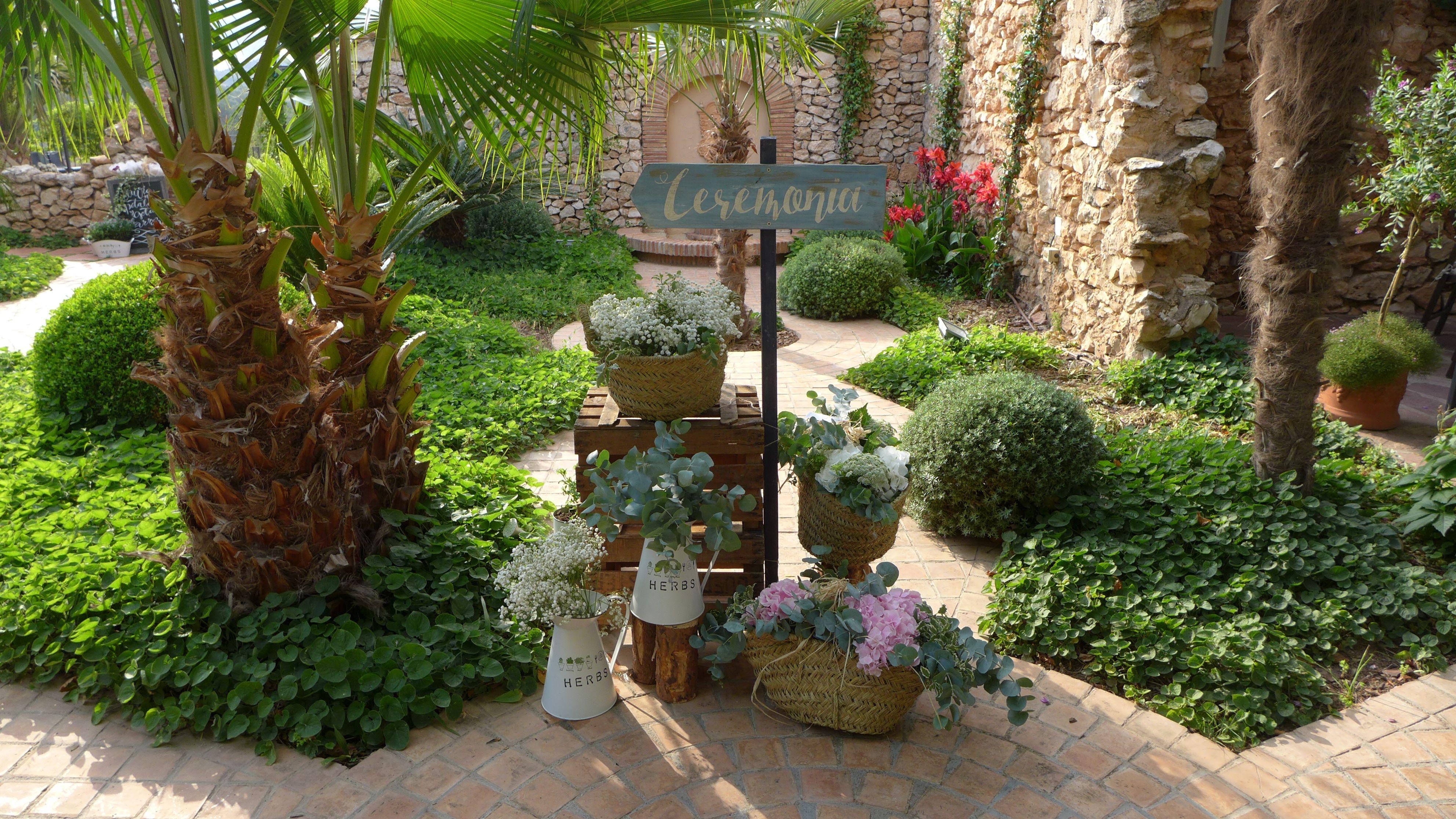 La Masía Les Casotes   Decoración Floral #boda #bodas #decoración #inspiracion
