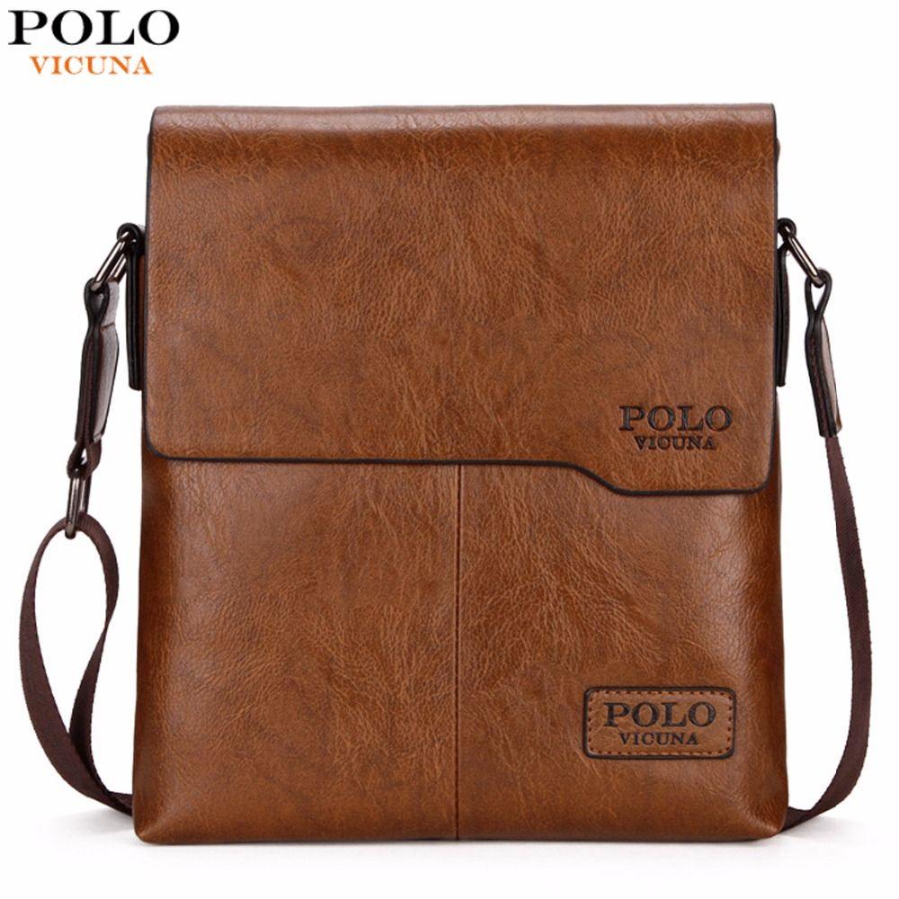 d124d81b53 VICUNA POLO Men Shoulder Bag Classic Brand Men Bag Vintage Style Casual Men  Messenger Bags Promotion Crossbody Bag Male Hot Sell