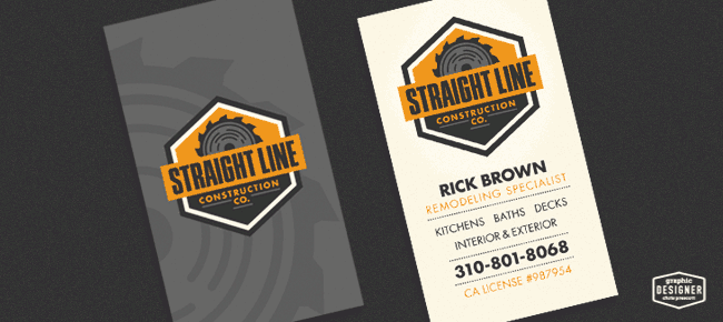 Retro vintage business card design for a construction company retro vintage business card design for a construction company colourmoves