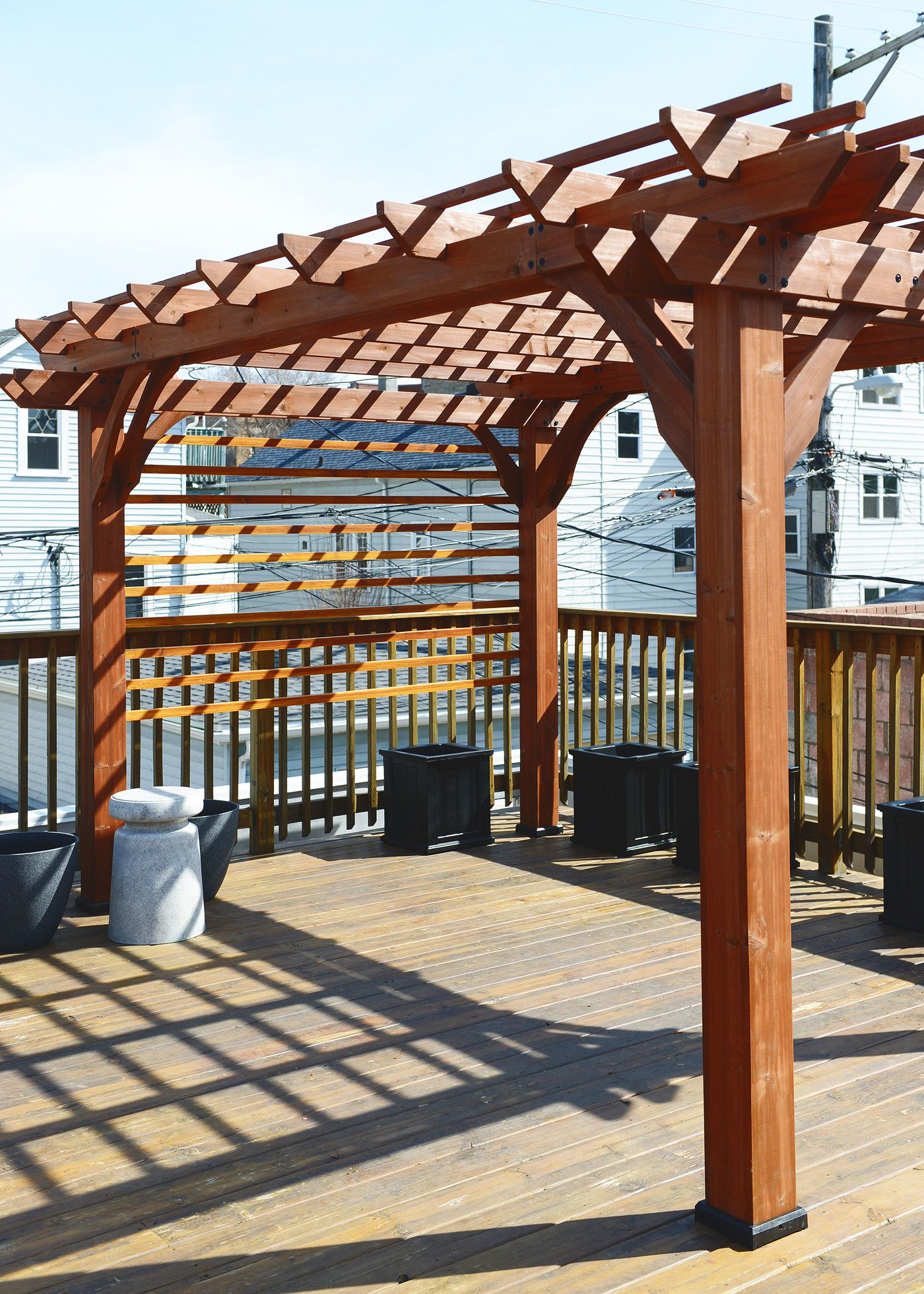 Let's Build a Pergola! (With images) Pergola
