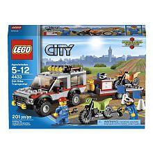 Lego City Dirt Bike Transporter 4433 Lego Toys R Us Lego