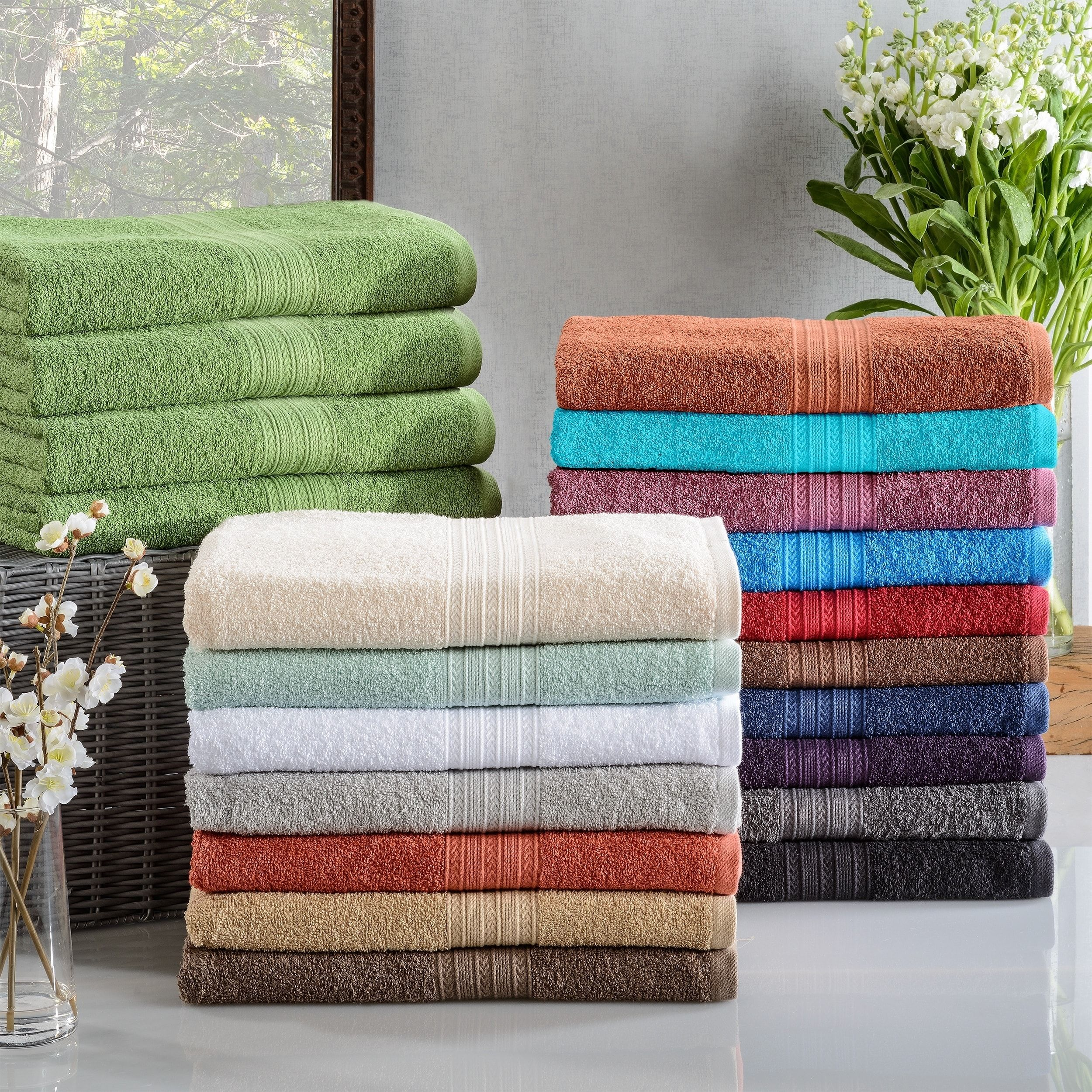 Miranda Haus Eco Friendly Cotton Soft And Absorbent Bath Towel