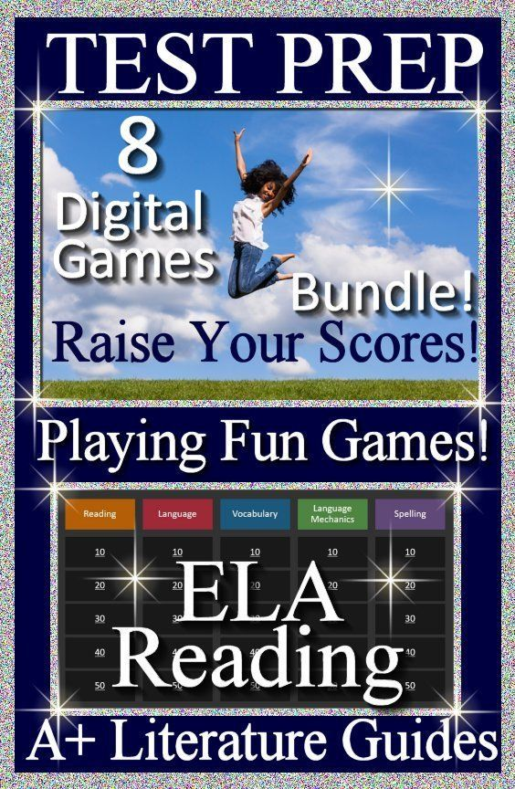 Back to School Zoom Games 20 ELA Test Prep Game Shows