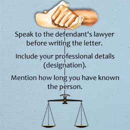 Character Reference Letter To A Judge  Reference Letter