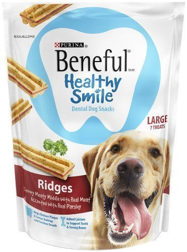 Purina Beneful Healthy Smile Dental Dog Snacks For Large Dogs