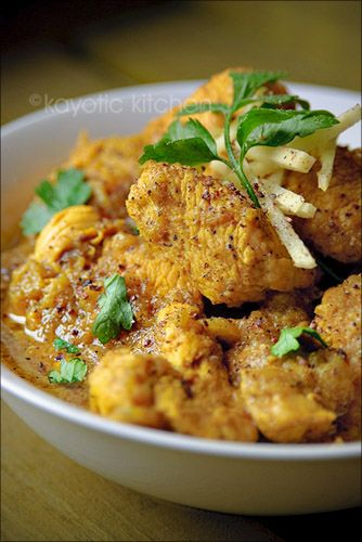 Peppery Chicken Curry .... Kayotic Kitchen